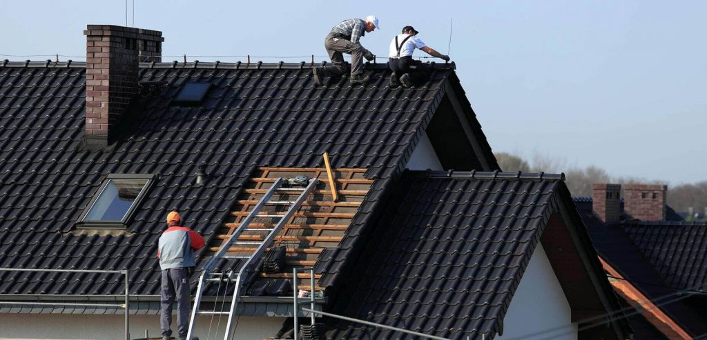 rooftop fixes work